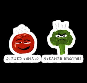 tomato broccoli