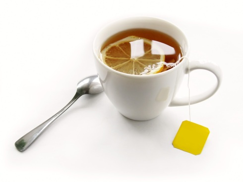 Green tea with honey and lemon