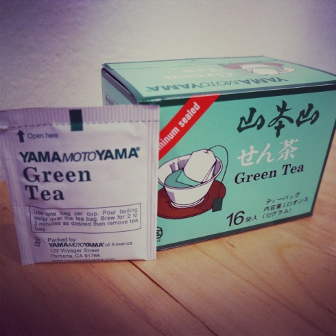 Yamamotoyama Green Tea- $1.50-$2 for a box of 16. Found online or any Asian grocery store