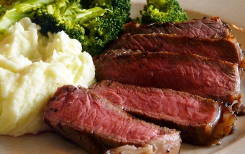 Rib Eye Steak November 26th, 2009
