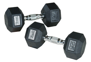 rubber_hex_dumbbells