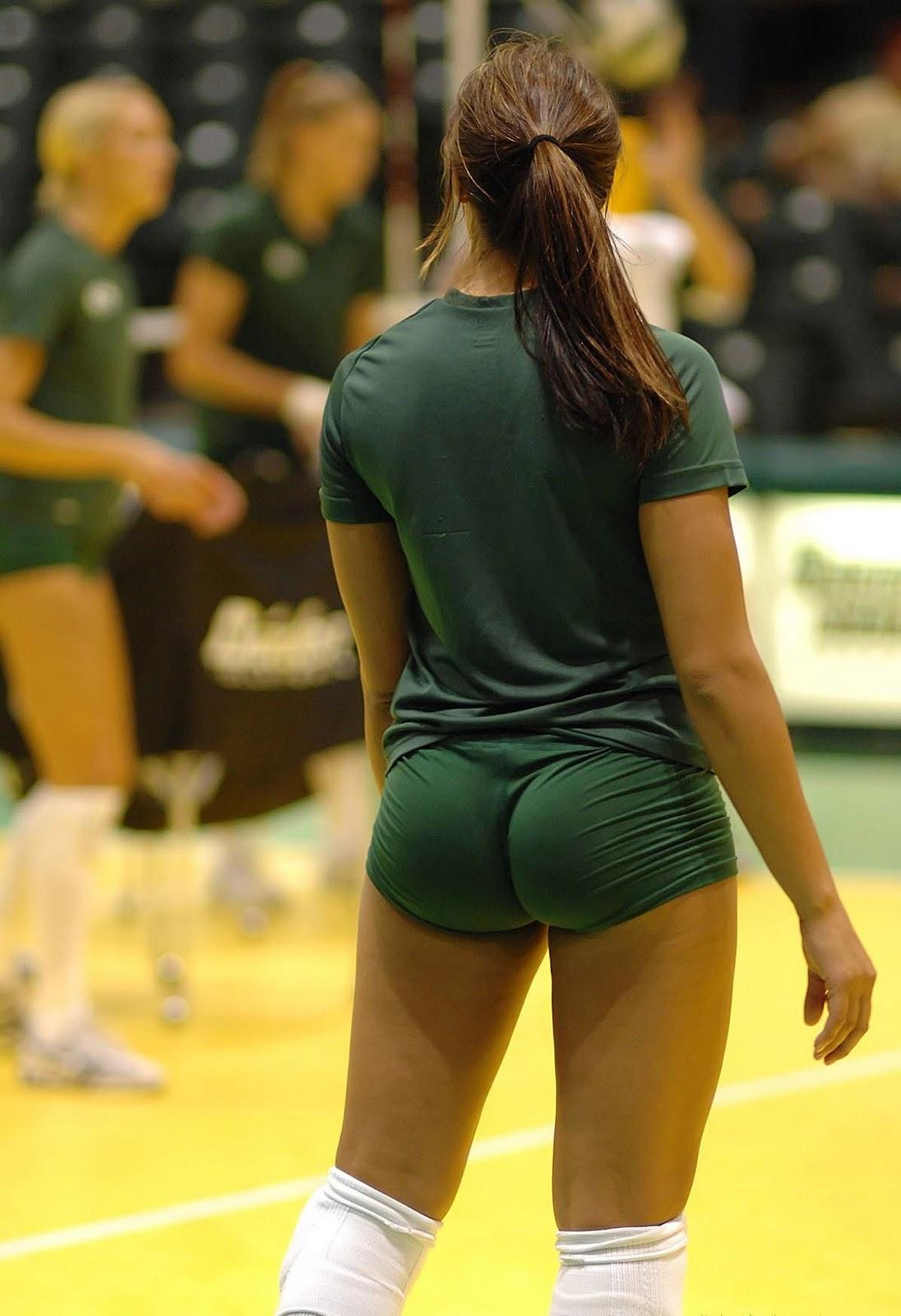 Volleyball Ass Spandex 58